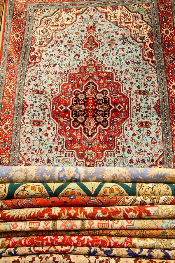 Alfombras persas foto de archivo