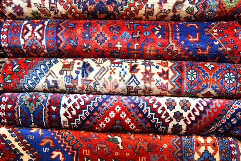 Alfombras persas imagen de archivo