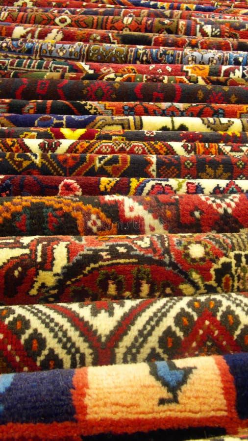 Alfombras persas foto de archivo libre de regalías