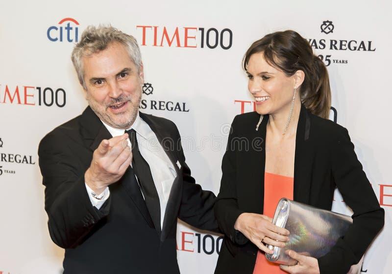 Alfonso Cuaron και χρυσοχόος Sheherazade στοκ εικόνες