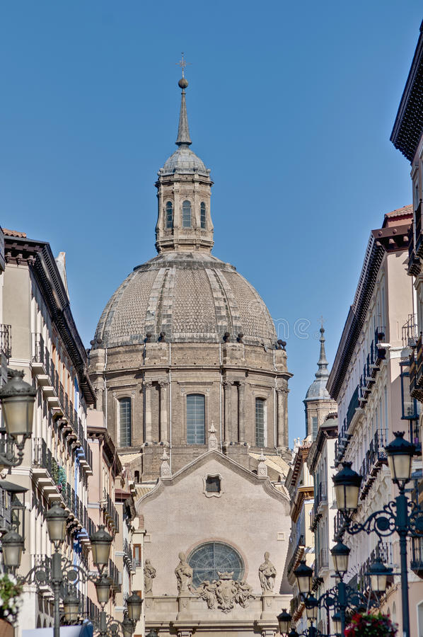 Download Alfonso I Street At Zaragoza, Spain Stock Photo - Image of spain, historic: 39508922