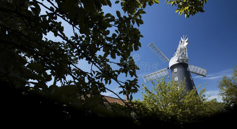 Alford, Lincolnshire, United Kingdom, July 2017, View of Alford Windmill. Alford, Lincolnshire, United Kingdom, July 2017, a View of Alford Windmill stock photos