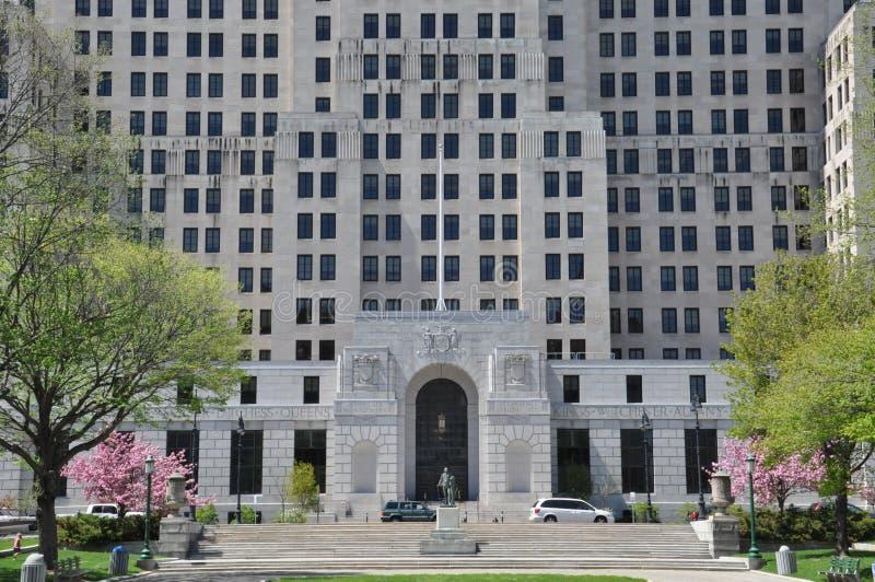 Alfred E Smith Building en Albany imagen de archivo