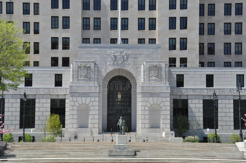 Alfred E Smith Building en Albany imagen de archivo libre de regalías