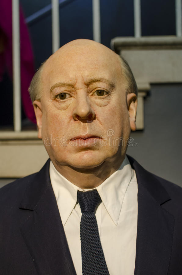 Alfred hitchcock royalty free stock images