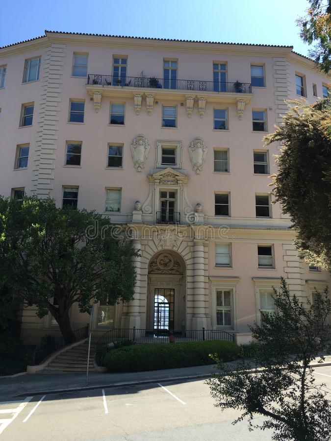 Alfred Hitchcocks ` s filmu szpital był istnym pracującym szpitalem, 1 zdjęcia stock