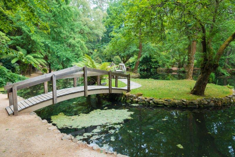 Alfred Nicholas Memorial Gardens arkivbilder
