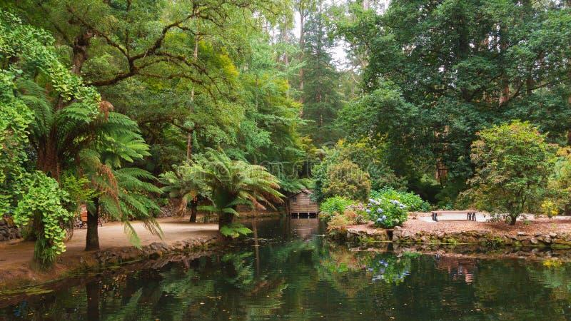 Alfred Nicholas pomnika ogródy zdjęcia royalty free