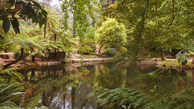 Alfred Nicholas pomnika ogródy fotografia stock