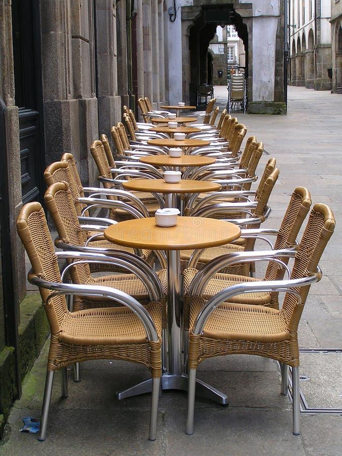 Alfresco sidewalk dining cafe royalty free stock photography
