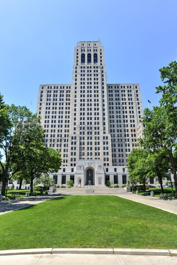 Alfried E Smith budynek, Albany, NY obraz royalty free