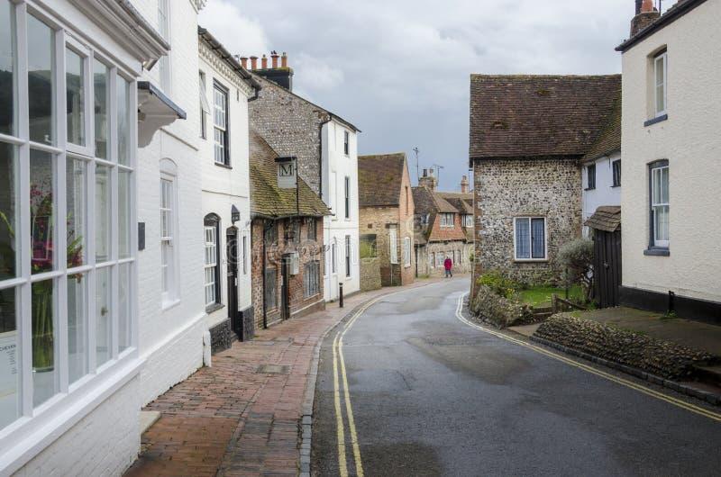 Alfristondorp in Oost-Sussex, het UK royalty-vrije stock fotografie