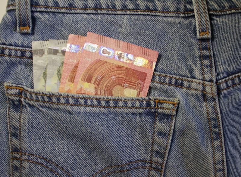 Algún palillo euro fuera de mi bolsillo imagenes de archivo