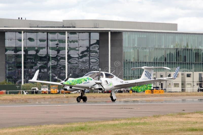 Algae powered plane royalty free stock image