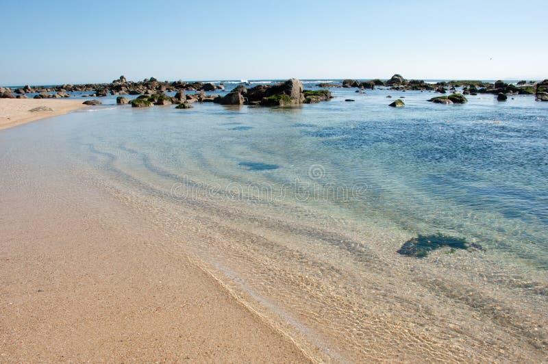 Algarrobo strand stock afbeeldingen