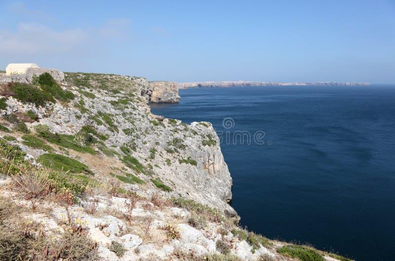 algarve大西洋海岸 库存照片