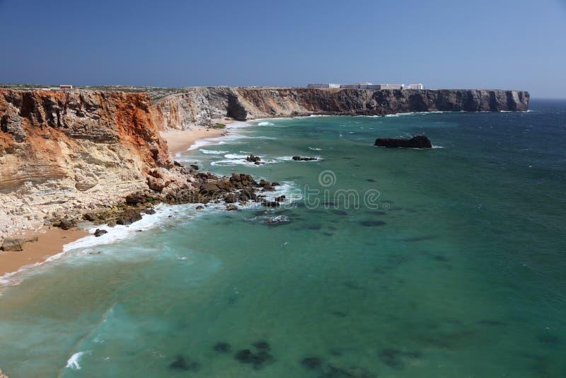 algarve海岸葡萄牙 免版税库存照片