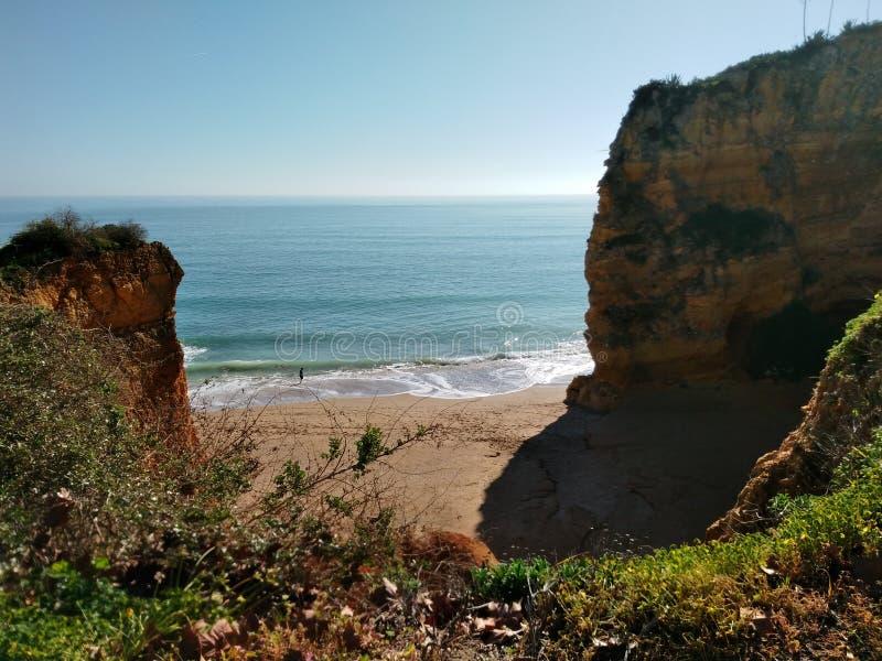 Algarve stock foto