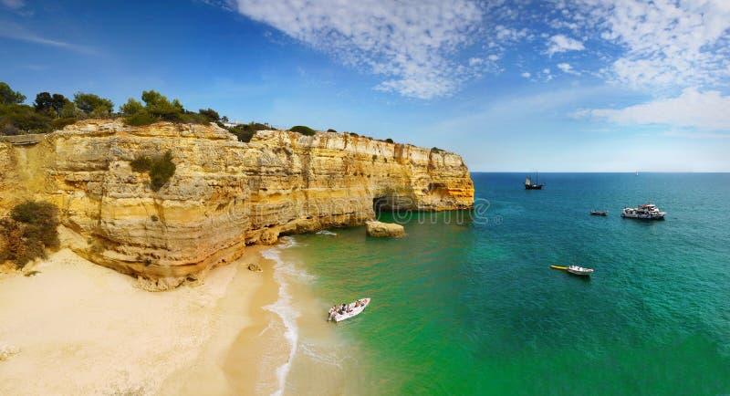 Algarve, côte et plage, Portugal photographie stock