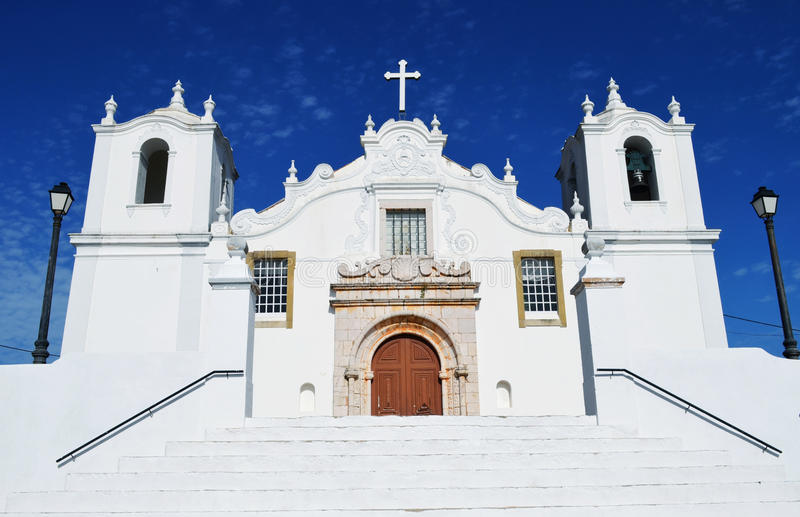Download Algarve Church stock photo. Image of postcard, cathedral - 28696662