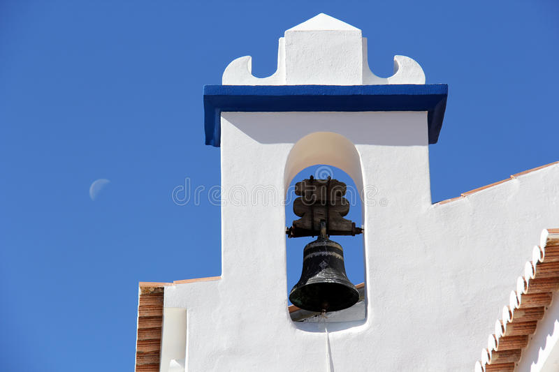 Algarve Church bell tower stock photography