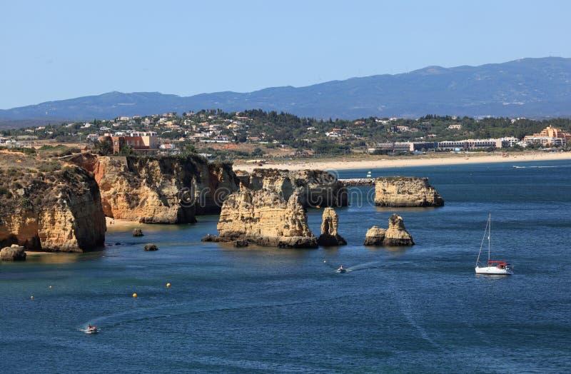 Algarve Coast, Portugal royalty free stock photo