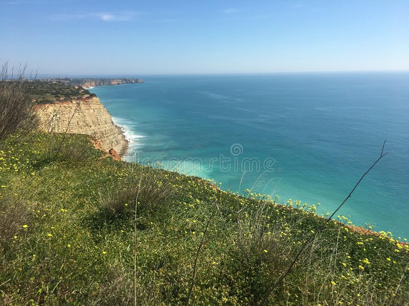 Algarve coastline, Portugal royalty free stock image