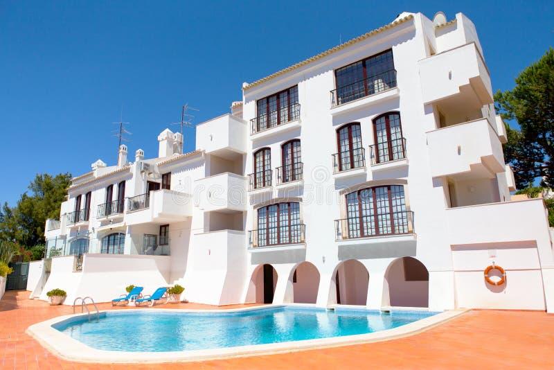 Algarve-Landhaus stockfoto