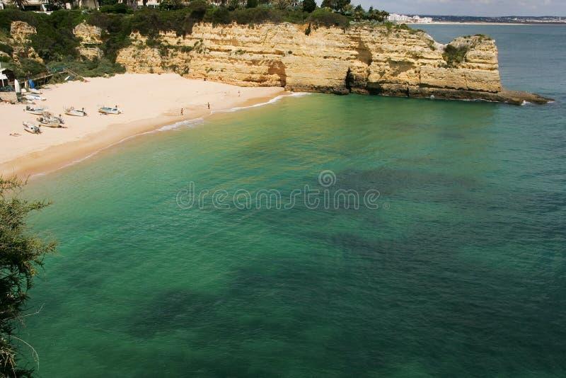 algarve plaża obraz stock