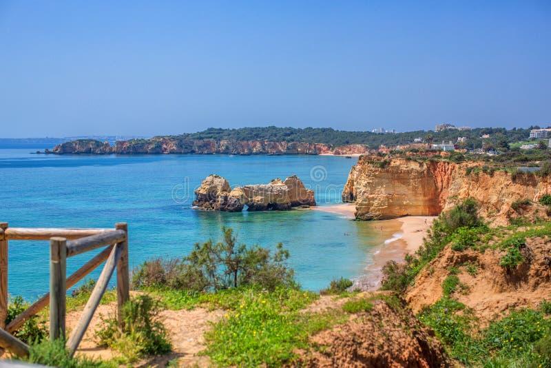 Algarve portugal arkivbild