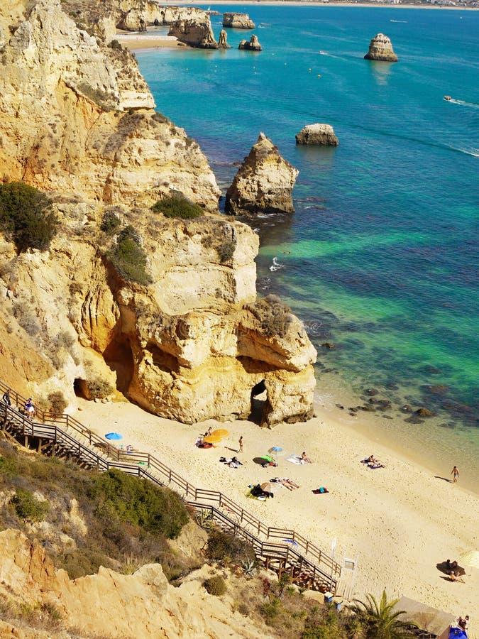 Algarve, Portugal images libres de droits