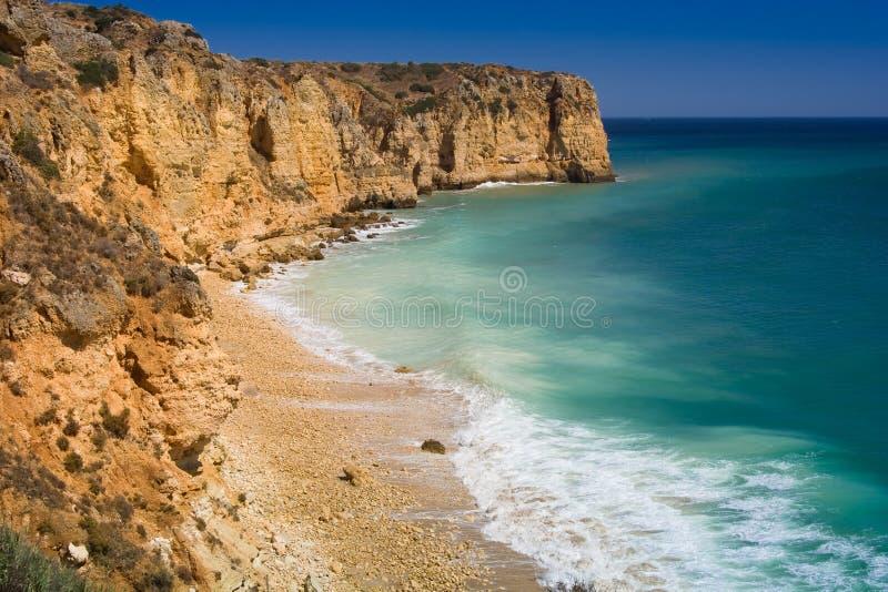 Download Algarve rock stock image. Image of high, rocks, portugal - 7456253