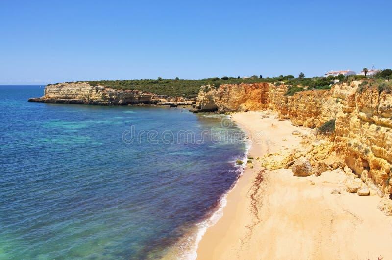 Algarve strand DA Senhora DA Rocha stock afbeeldingen