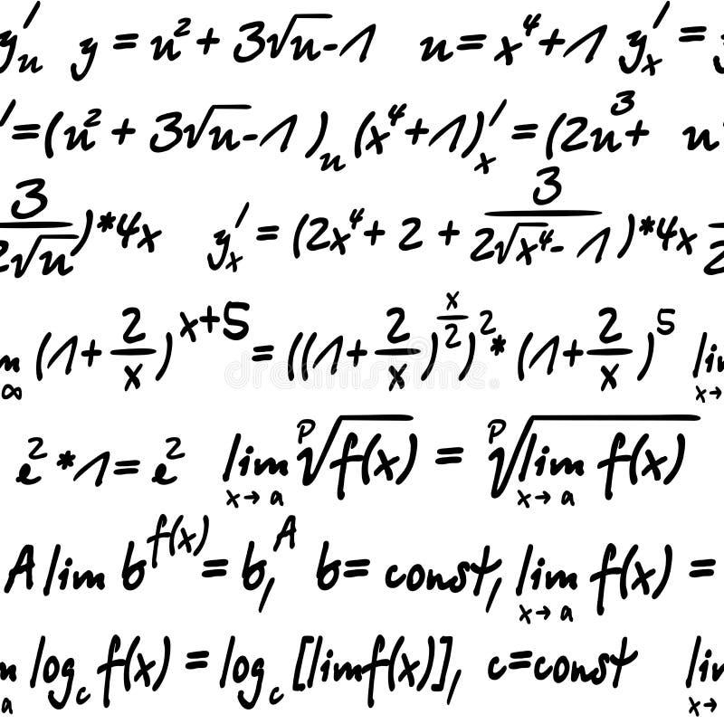 Algebra nahtlos stock abbildung