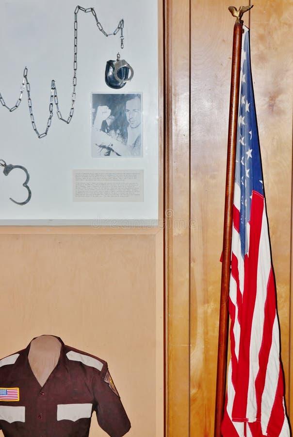Algemas do assassino de John F. Kennedy fotos de stock royalty free