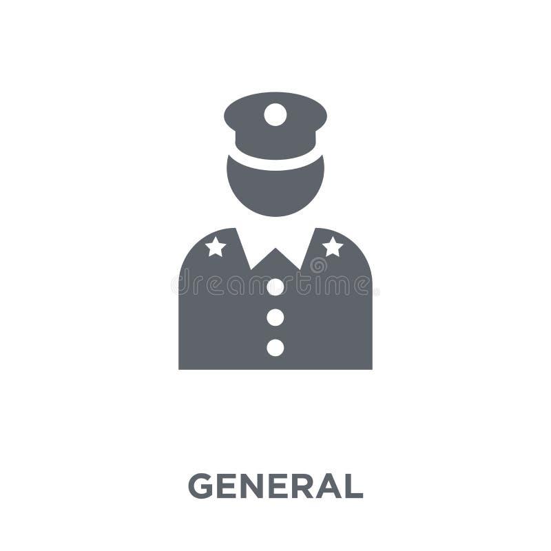 Algemeen pictogram van Legerinzameling stock illustratie