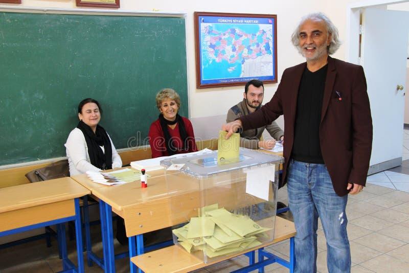 Algemene verkiezingen in Turkije, 2015 royalty-vrije stock afbeelding