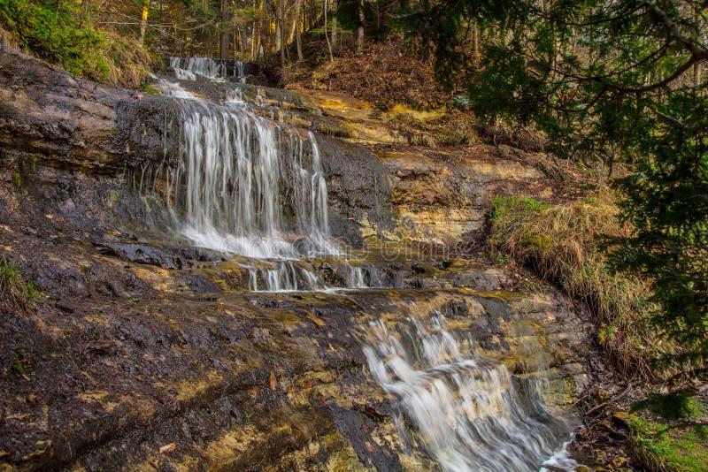 Alger Falls royalty free stock photography