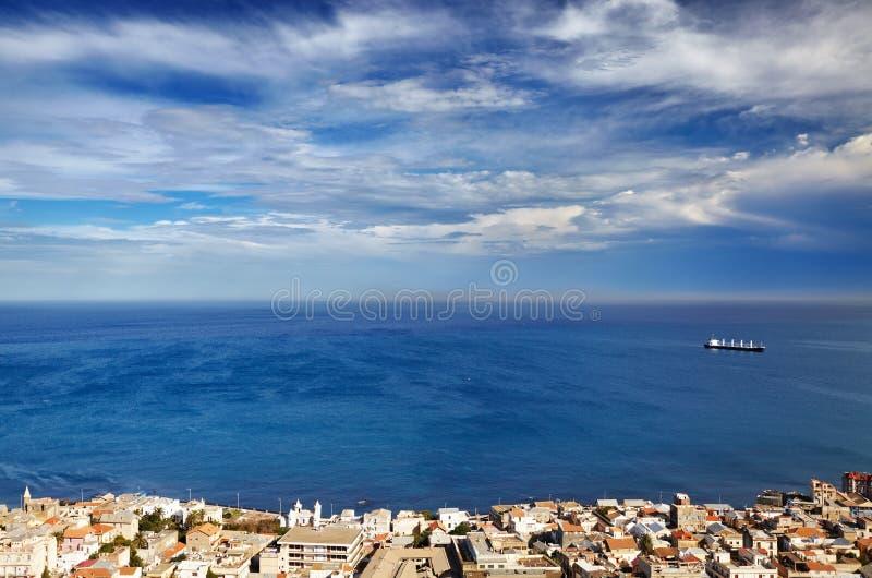 Algeri la capitale dell'Algeria immagini stock libere da diritti