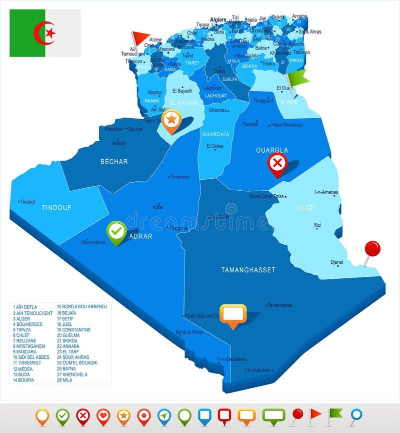 Batna Map Stock Illustrations – 28 Batna Map Stock ...