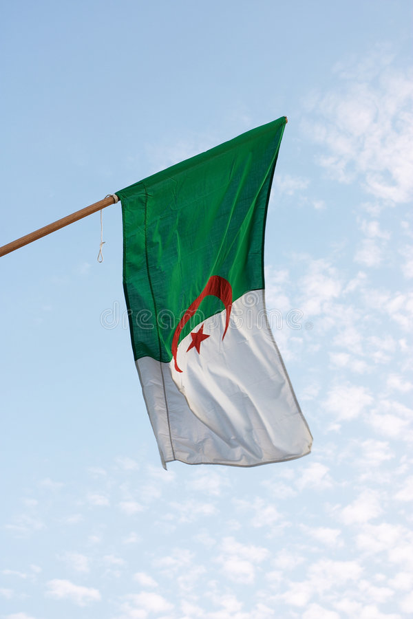 Download Algerian Flag Stock Photography - Image: 63222