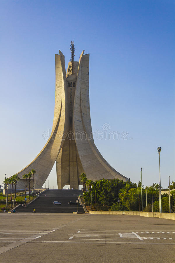 Algerias-Monument lizenzfreie stockfotografie