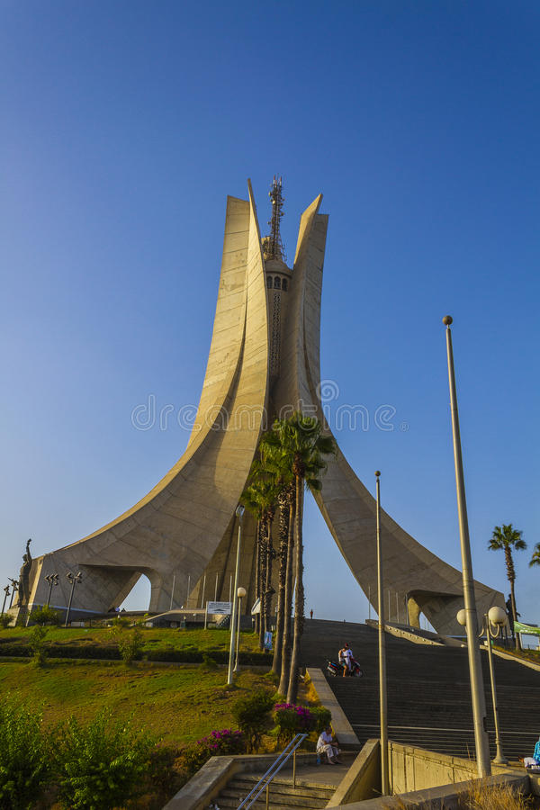 Algerias-Monument lizenzfreie stockfotos