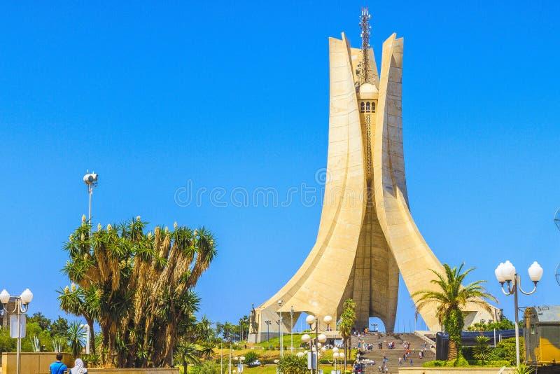 Algerias-Monument stockfotografie