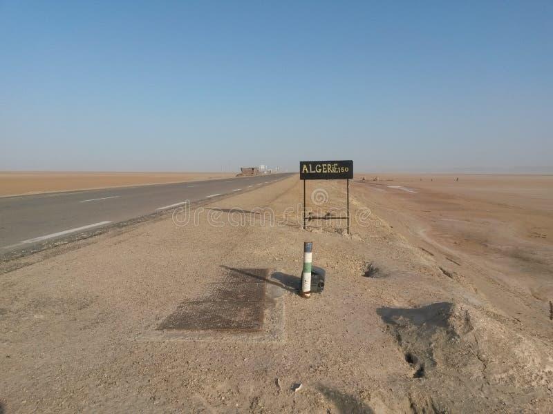 Algerie gräns arkivfoton