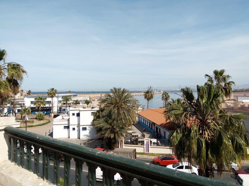 Algeries Alger immleuble d'Algérie de bâtiment photo libre de droits