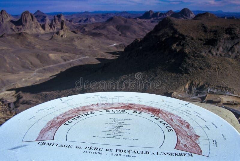 Algerije, het Nationale Park van Tassili N 'Ajjer - Afrika stock afbeeldingen