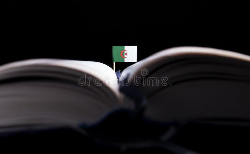 Download Algerische Flagge Mitten In Dem Buch Stockfoto - Bild von hochschule, informationen: 96931450