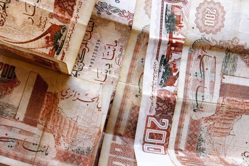 algerisk dinar arkivfoton