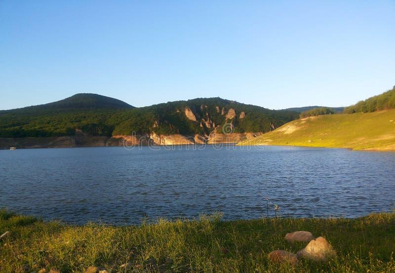 Algeti-Reservoir lizenzfreie stockfotografie
